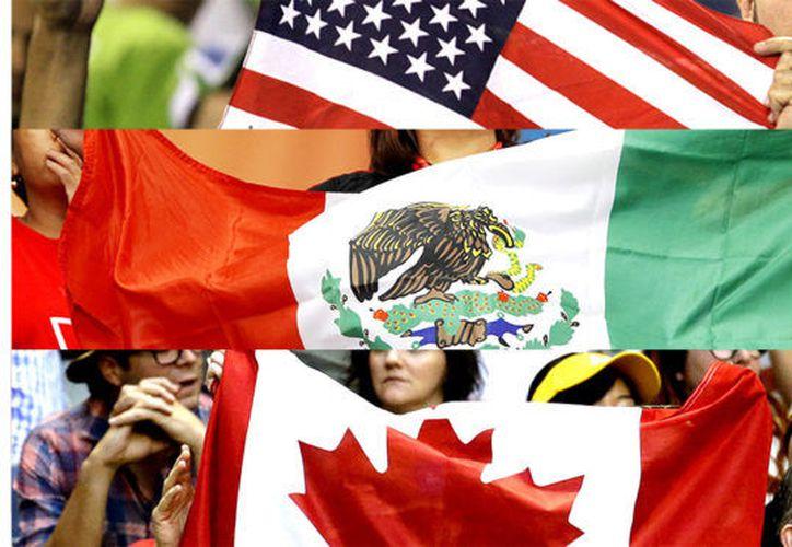 Los tres países buscan ser anfitriones de la Concacaf.  (Foto: Marca Claro)