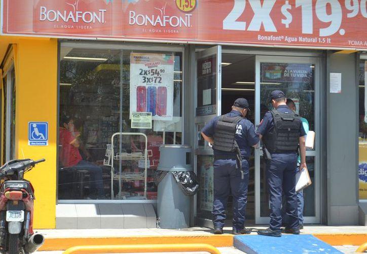 Los casos de robo a negocios durante el mes pasado fueron 18 incidentes de los que tuvo conocimiento la autoridad. (Joel Zamora/SIPSE)