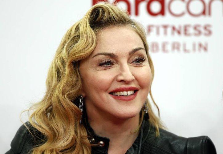 La cantante Madonna durante una visita a Berlín. (Agencias)
