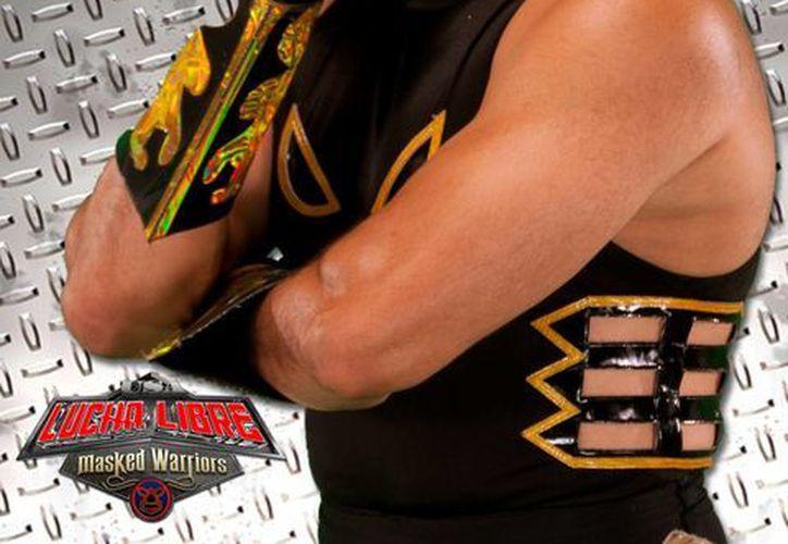 'Tinieblas' anuncia el regreso de la lucha libre a las carpas de circo. (Fotografía: Galleryhip)