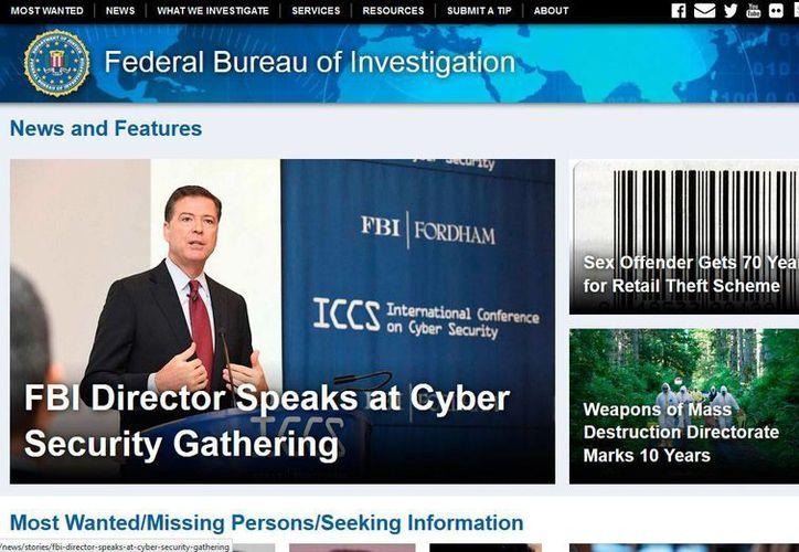 Captura de pantalla del sitio web del FBI. La agencia acusa a Nicholas Young, agente de tránsito del área metropolitana de Washington, por intento de dar material de apoyo a un grupo terrorista. (www.fbi.gov)