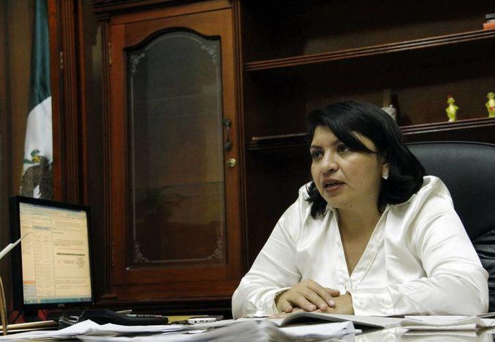 Martha Góngora Sánchez, directora del Registro Civil, indicó que anualmente se registran a 36 mil bebés. (Milenio Novedades)