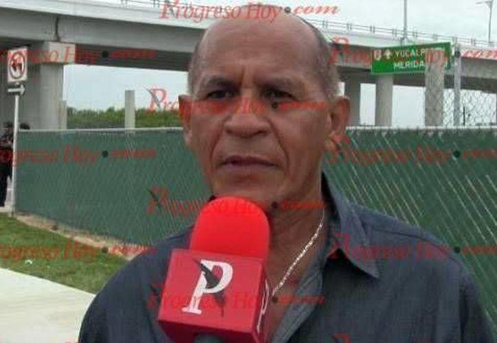 Imagen del director estatal de Pesca, Delfín Quezada Domínguez, quien habló sobre la captura de langosta en Yucatán. (Milenio Novedades)