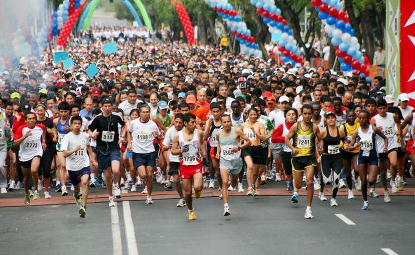 La carrera se llevará a cabo en la avenida Bonampak. (Ángel Villegas/SIPSE)