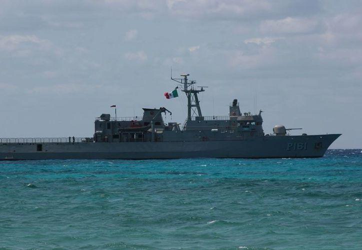 Según el portal de la Semar, el buque Oaxaca es de la clase patrulla oceánica construido y diseñado por la Armada de México para su propio uso. (Gustavo Villegas/SIPSE)