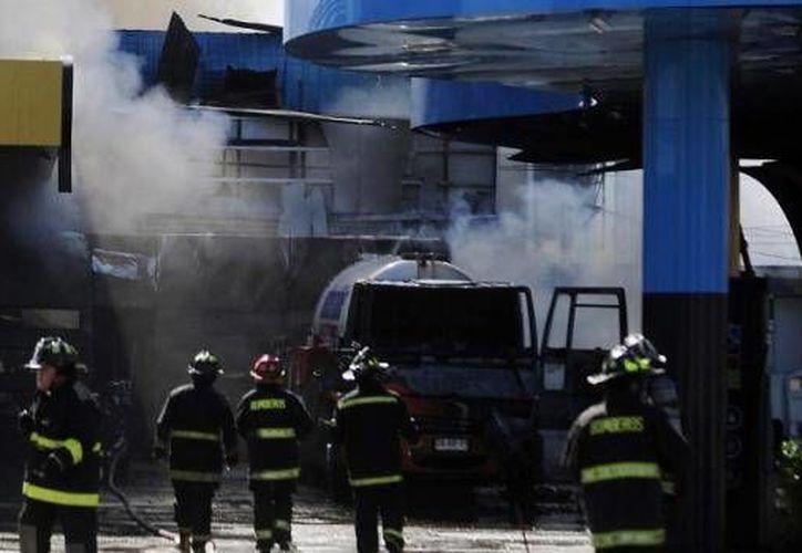 La gasolinera afectada se ubica en pleno centro del balneario de Viña del Mar. (biobiochile.cl)