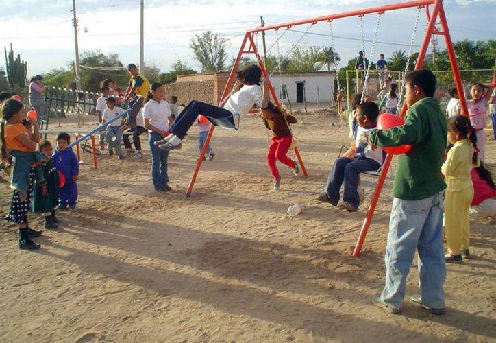 Con el programa se busca que los niños salgan a festejar su día en plazas, centros recreativos y deportivos. (EcoDias).