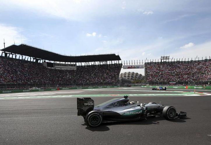 El 'poleman' dominó la segunda edición del GP de México (Foto: AP)