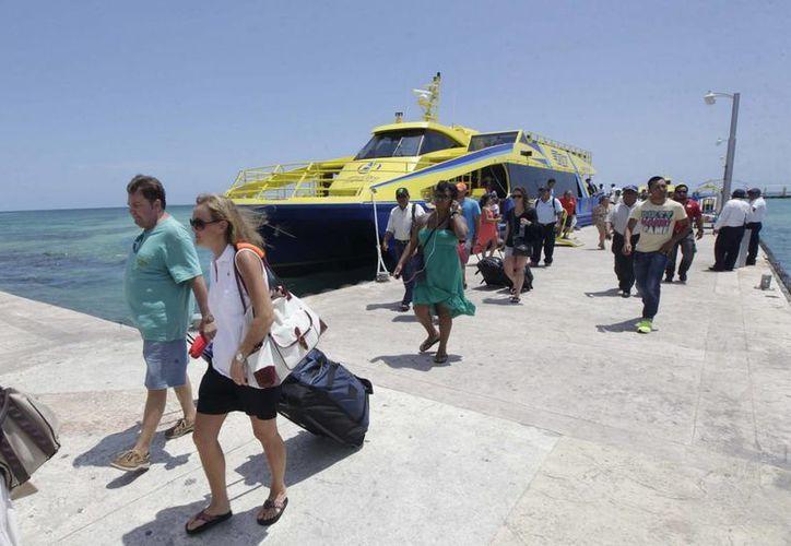 El escenario para la temporada de verano es promisorio y podría superar los 300 mil pasajeros en el transcurso de los meses de julio y agosto. (Redacción/SIPSE)