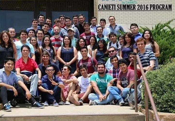 Jóvenes yucatecos se preparan en una universidad texana. (Milenio Novedades)