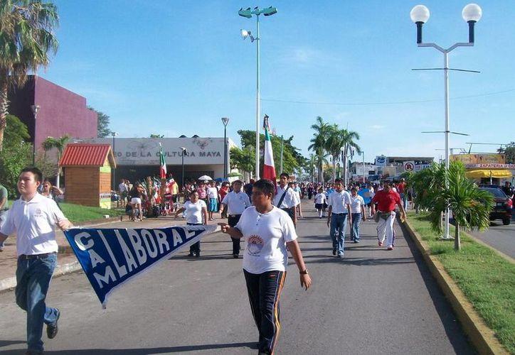 El desfile en Chetumal partirá de calles adyacentes al Museo de Cultura Maya. (Redacción/SIPSE)