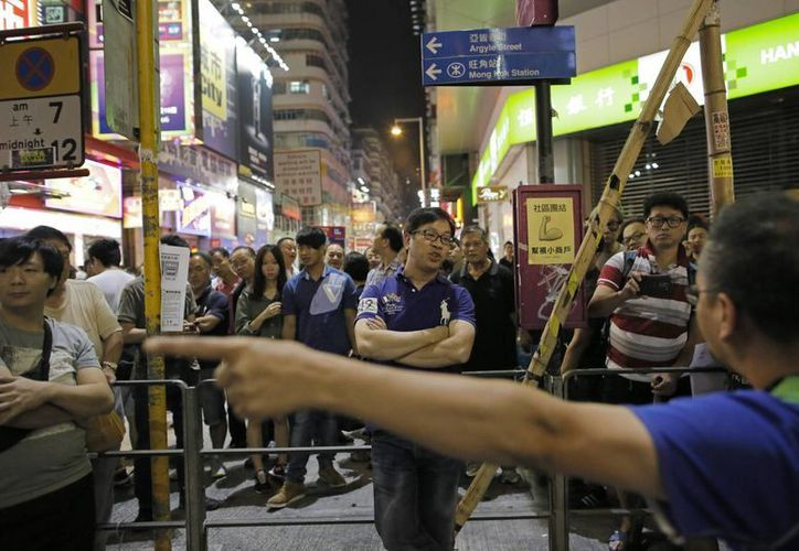 Manifestantes de Hong Kong quieren candidaturas abiertas y sufragio universal. (Foto: AP)
