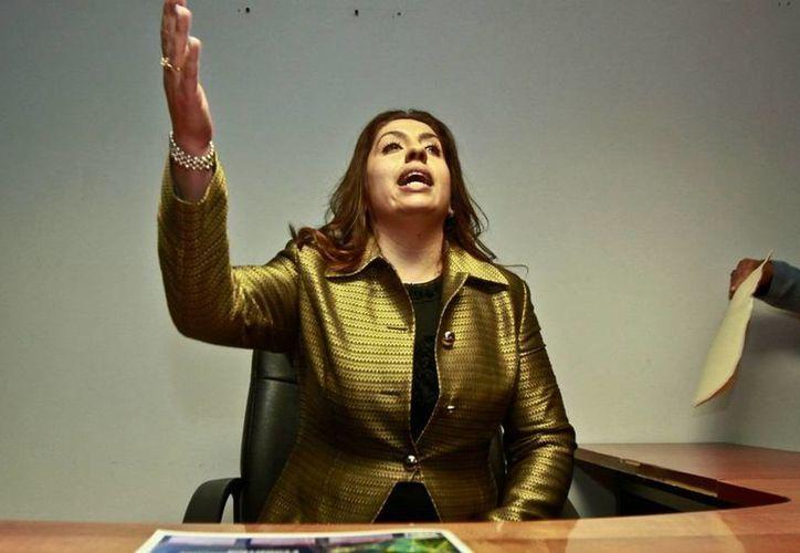 La acción judicial en contra de la regidora Elisa Ayón fue respaldada incluso por los diputados del PRI. (Milenio)