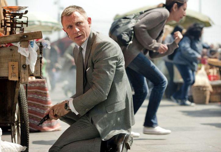 Daniel Craig es uno de los actores mejor pagados en Hollywood. (Agencia Reforma)