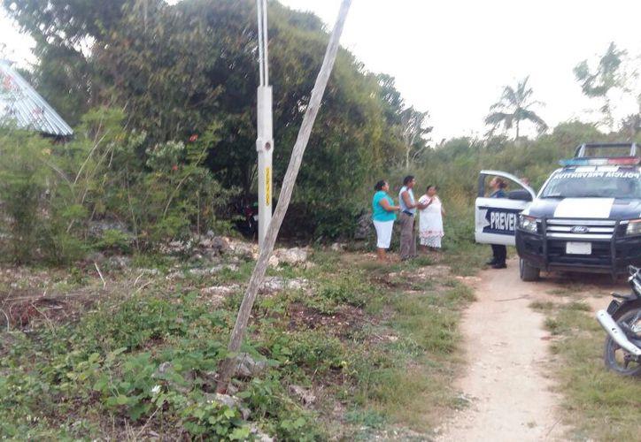 Tras casi tres horas desaparecidos, la Policía Municipal comenzó con la búsqueda en la zona selvática. (Foto: Redacción)