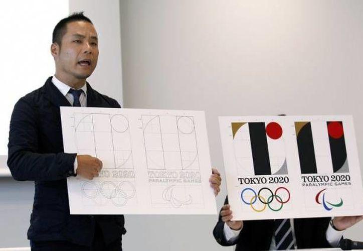 Kenjiro Sano, el diseñador creador del logo de los Juegos Olímpicos de Tokio 2020. El diseño fue descartado por el comité organizador luego de recibir una nueva denuncia por plagio este fin de semana. (Archivo AP)