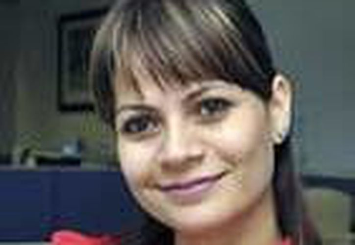 """Adriana Guadalupe Tortajada Narváez, directora del programa de Emprendedores y Financiamiento del Instituto Nacional del Emprendedor, después de su conferencia """"Oportunidades para México"""" en Mérida. (Milenio Novedades)"""