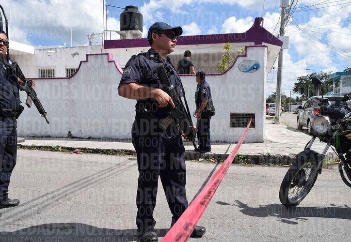 Los elementos de Seguridad Pública no se dan abasto para atender todos los reportes. (Gustavo Villegas/SIPSE)