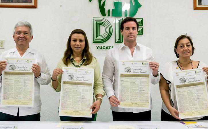 El DIF estatal, la Codhey y el Crit promoverán con fotografías la inclusión de personas con discapacidad. (Foto cortesía del DIF)