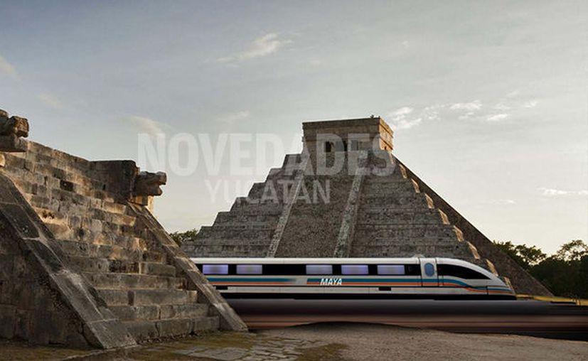La edificación del museo de Chichén Itzá sería un proyecto que irá a la par de la construcción del tren maya. (Imagen estrictamente ilustrativa/SIPSE)