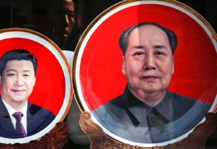 El poder Xi Jinping (izquierda) se reforzará en estos días con la ampliación de su mandato. (Contexto/Internet)