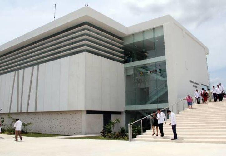 En la sala 1 del Centro de Justicia Oral de Mérida (foto) se llevó a cabo la primera audiencia que se realiza bajo el Código Nacional de Procedimientos Penales. (SIPSE)