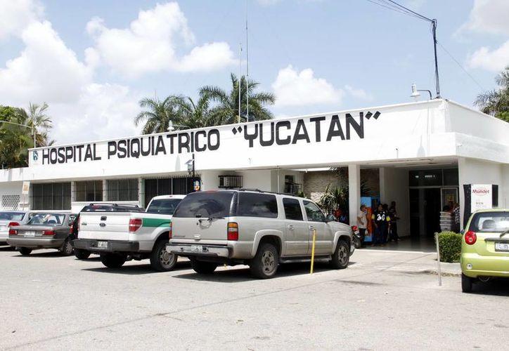 """Instalaciones del Hospital Psiquiátrico """"Yucatán"""". (Milenio Novedades)"""