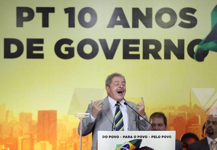 Luis Inácio Da Silva gobernó Brasil de 2003 a 2010. (EFE)