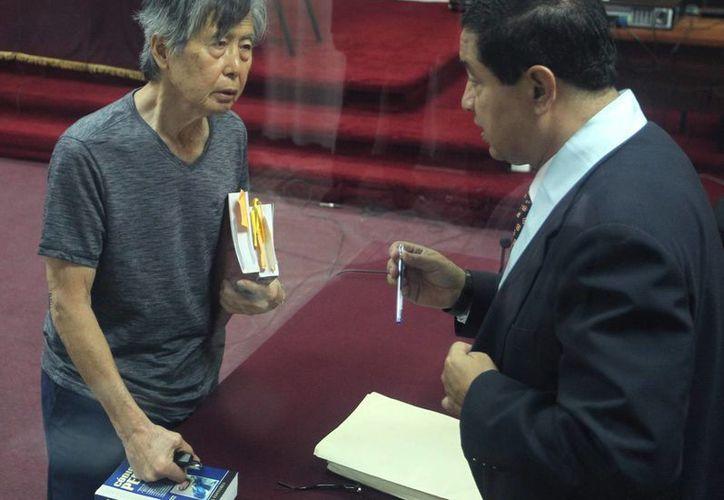 A Fujimori le fue negado el indulto presidencial al considerar que no padece una enfermedad terminal.  (EFE)