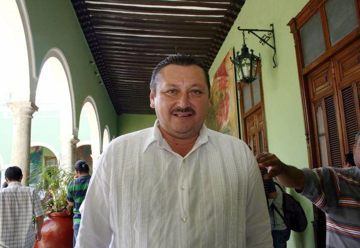 Roger Alcocer García, alcalde de Valladolid, Yucatán. (Archivo SIPSE)
