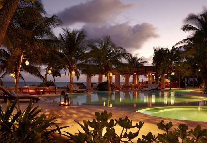 El hotel Viceroy Rivera Maya, en Playa del Carmen, se ubicó en la posición 15 dentro del ranking mundial.  (Foto de contexto/Internet)