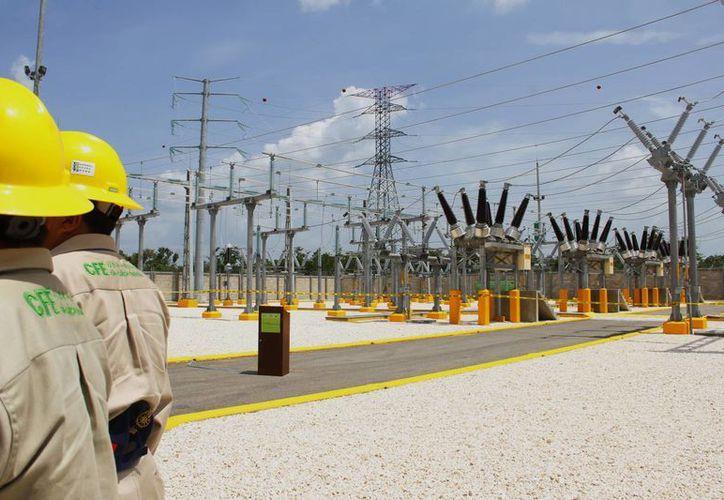 La nueva subestación de la CFE en el norte de Mérida, nombrada Itzimná, permitirá fortalecer el servicio de energía en esa parte de la ciudad. (SIPSE)