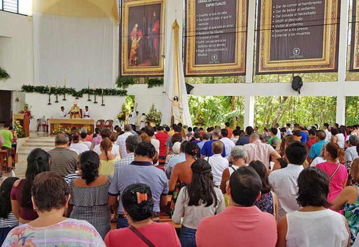 La conferencia acerca de la Historia de la Evangelización, se realizará en el Centro de Convenciones, anunció la Prelatura. (Jesús Tijerina/SIPSE)