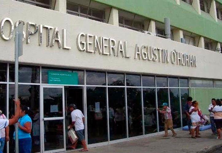 """Un joven que intentó suicidarse, pero que fue rescatado por paramédicos, en Tizimín, fue trasladado en estado grave al hospital """"Agustín O'Horán"""" de Mérida. (Archivo)"""