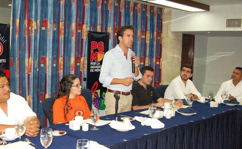 Pablo Gamboa Miner, director de la Comey, está apoyando la causa. (Wilberth Argüelles/SIPSE)