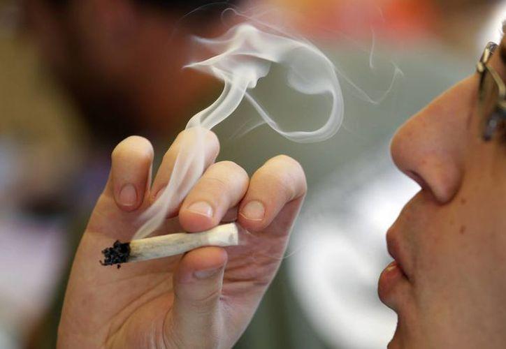 Peña Nieto propuso elevar la cantidad de portación personal a 28 gramos. (Agencias)