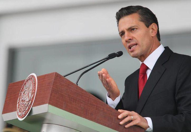 El presidente Enrique Peña Nieto será orador en la Conferencia Mundial de los Pueblos Indígenas y en la Cumbre del Clima 2014, ambas organizadas por la ONU. (Archivo/Notimex)