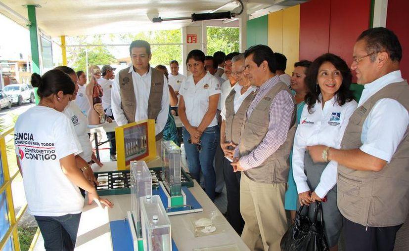 """En Bacalar fue inaugurado el programa """"Apropiación Social de la Ciencia"""". (Cortesía/SIPSE)"""