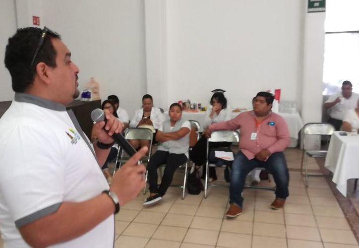 Se realizó el Taller Intersectorial de Salud en el Ayuntamiento de Solidaridad. (Foto: Daniel Pacheco/SIPSE).