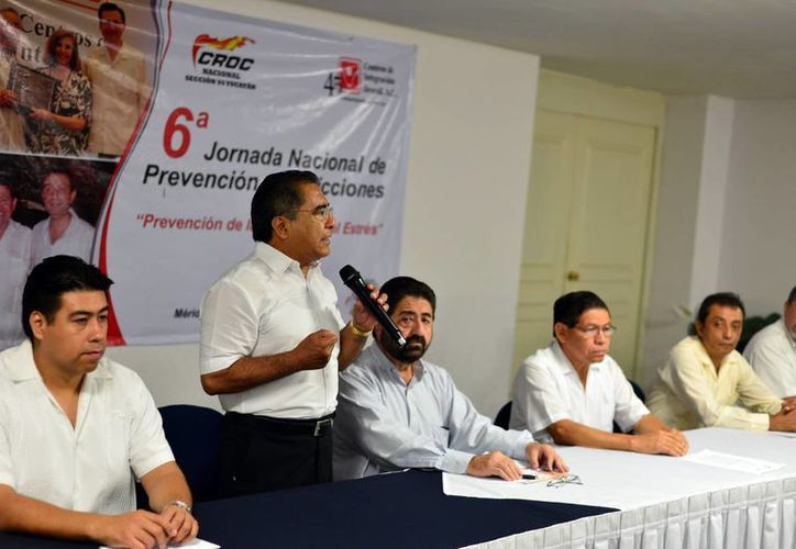 La CROC realiza la Jornada de Prevención de Accidentes. (Milenio Novedades)