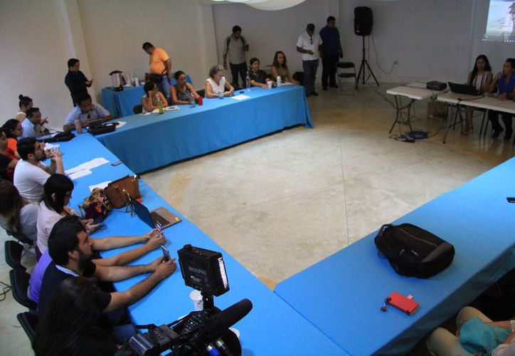 Ayer presentaron un estudio sobre la población del manatí (Luis Soto/SIPSE)