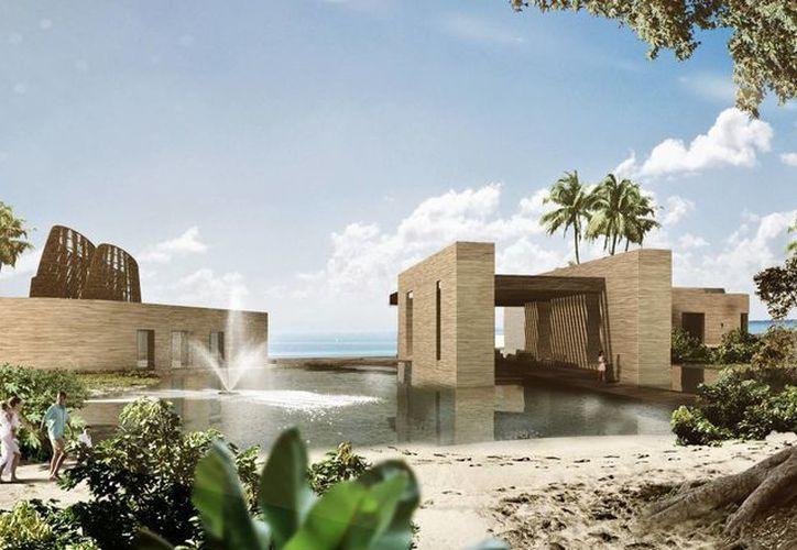 El resort se construirá con materiales que no dañarán el entorno ecológico de la zona. (Redacción/SIPSE)