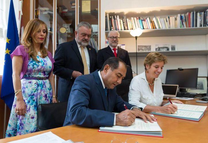 Una delegación yucateca en Milán presenta las ventajas competitivas del estado a empresarios italianos (foto) y concretar acuerdos académicos.  (José Acosta/SIPSE)