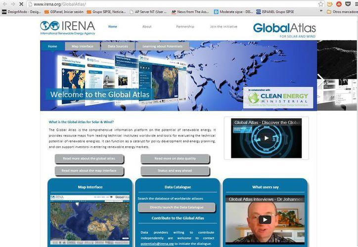 Se permite el acceso a las herramientas para la evaluación del potencial técnico de las energías renovables. (irena.org)