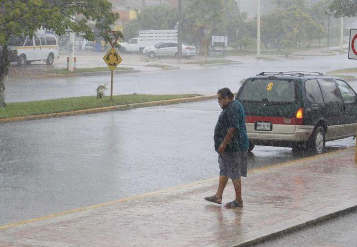 Se prevén temperaturas calurosas a pesar de las lluvias. (Harold Alcocer/SIPSE)