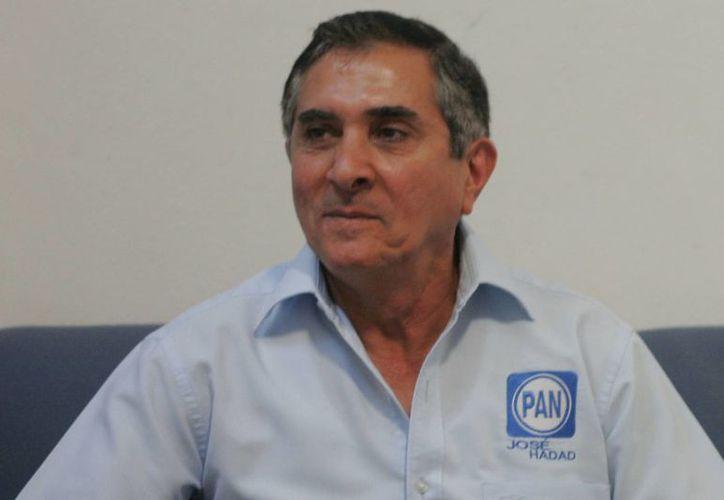 José Hadad Estéfano deberá dar una explicación a la ciudadanía de cuál es el origen de su candidatura y qué compromisos tiene. (Harold Alcocer/SIPSE)