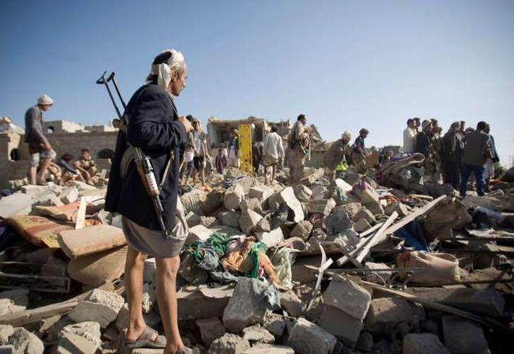 Al menos 20 civiles murieron, incluidos cuatro niños y siete mujeres. (Contexto/Internet)