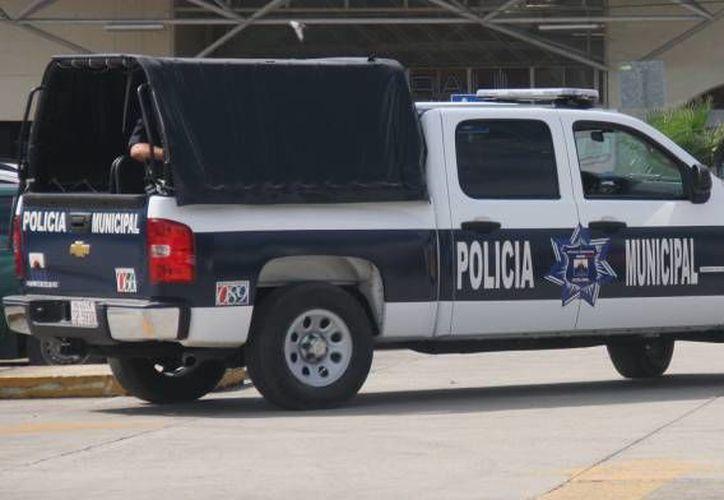 Elementos de Seguridad Pública detuvieron al agresor. (Archivo/SIPSE)