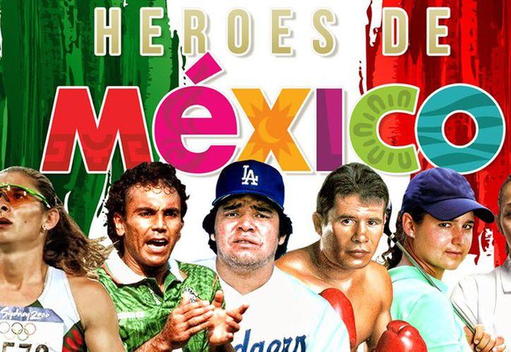 Los 'Héroes de México' grabarán un video que se proyectará en medio tiempo del juego de NFL en el Estadio Azteca. (Foto: Mediotiempo)