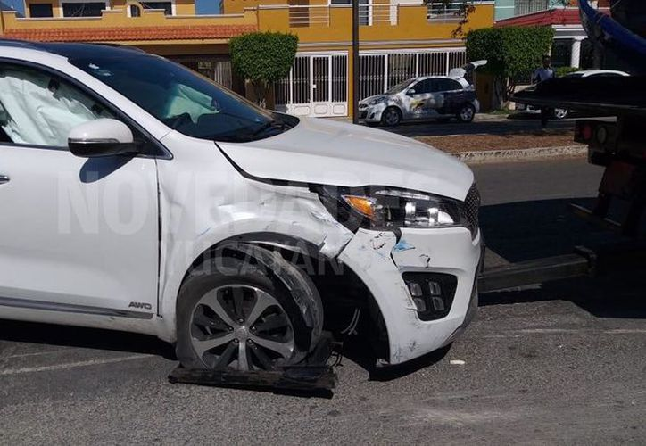 El accidente se presentó en la avenida 50 de Francisco de Montejo. (Novedades Yucatán)